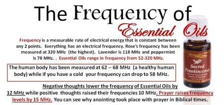 Buy A Harp >> Frequencies of YL Essential Oils – Essential Oils Inspired
